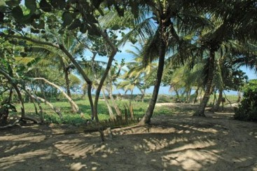 Beachfront property with approx. 30 meters front in Cabarete