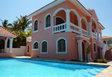 Villa with 4 bedrooms and ocean view Cabarete