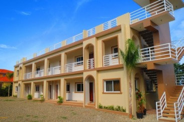 Beautifully furnished studios and 3 bedroom apartment with ocean view in Sosua