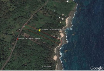 Oceanfront Land in unspoilt area of Samana