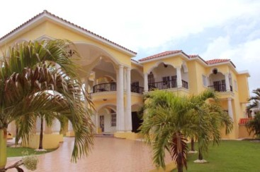 Impressive two storey residence in Puerto Plata