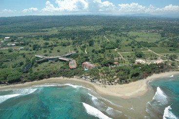 Property with 160 Linear Meters of Beachfront near Cabarete
