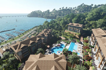 New Oceanfront Condo Hotel located in Samana