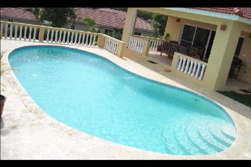 #4 Villa with 4 bedrooms for rent in Sosua
