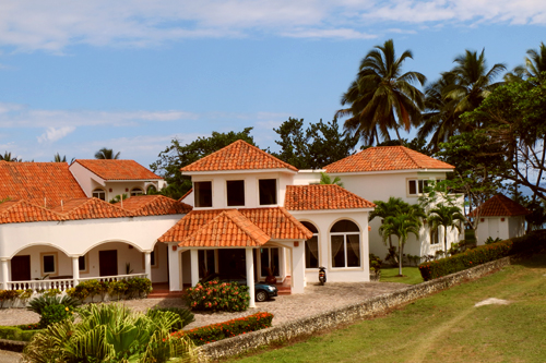 #2 Magnificent Beach Front Villa For Rent - Cabarete Beach Rentals