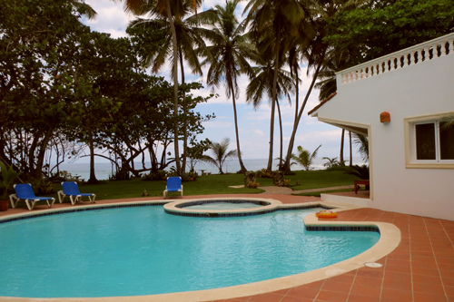 #0 Magnificent Beach Front Villa For Rent - Cabarete Beach Rentals