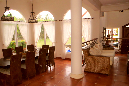 #8 Magnificent Beach Front Villa For Rent - Cabarete Beach Rentals
