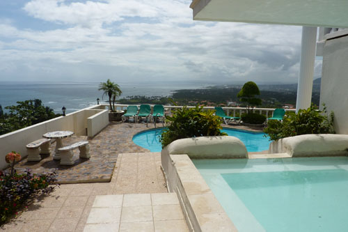 #2 Large ocean view villa in Cofresi DR