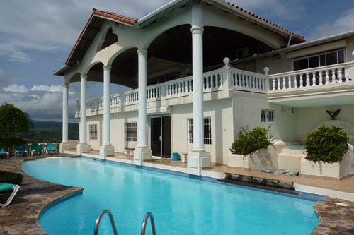 #7 Large ocean view villa in Cofresi DR