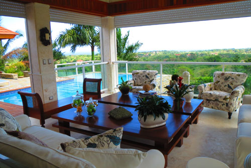 #4 Beautiful 5 bedroom villa in gated community offering super ocean view