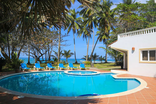 #1 Magnificent Beachfront Luxury Villa in secured gated community