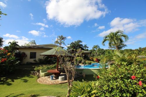 #3 Charming Sosua villa with a large lot and ocean views