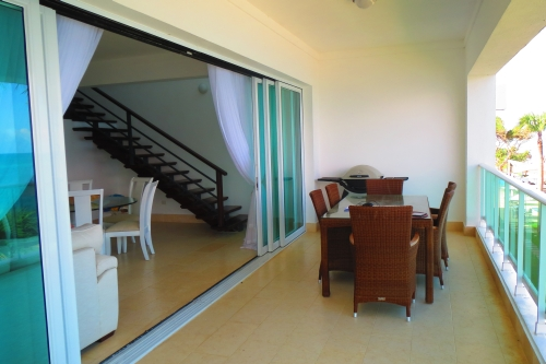 #16 Stunning beachfront 5 bedroom duplex penthouse in Sosua