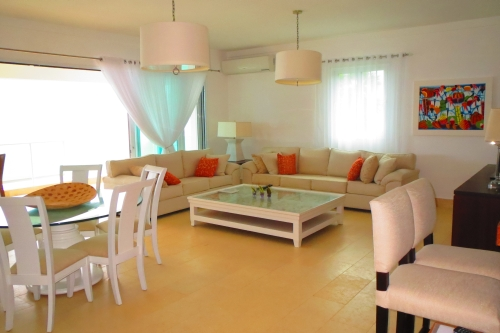 #5 Stunning beachfront 5 bedroom duplex penthouse in Sosua