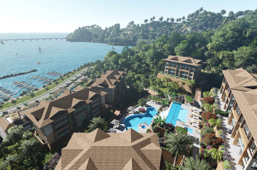 #0 New Oceanfront Condo Hotel located in Samana