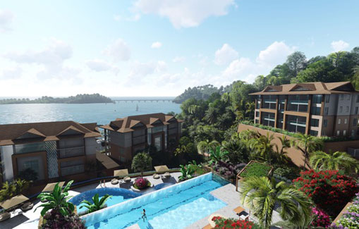 #4 New Oceanfront Condo Hotel located in Samana