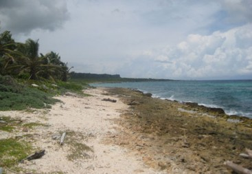 Magnificent beach front land near Punta Cana