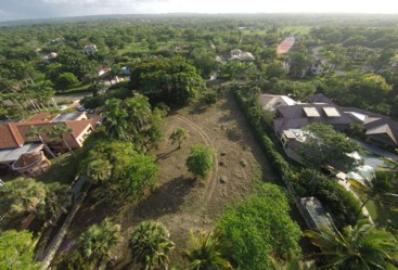 Beachfront lot inside exclusive gated resort community