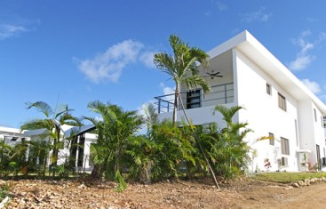 New modern villa located in a quiet gated community