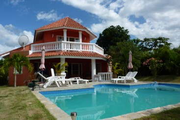 Villa with 3 bedrooms and some ocean view in Sosua