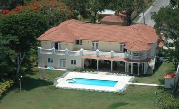 Oceanfront Villa for Rent in Sosua