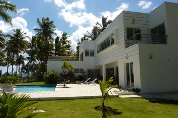 Modern style beachfront Villa for sale