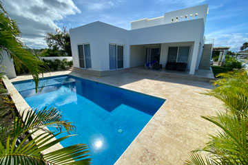 New modern villa loc in the Dominican Republic