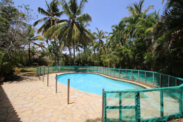 Large villa in beachside, gated community