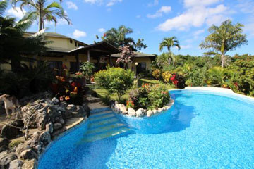 Charming Sosua villa with a large lot and ocean views