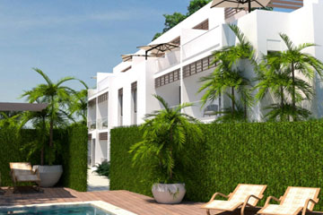 Modern condos for sale in downtown Sosua
