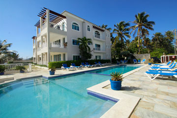 Lovely two bedroom beachfront condo