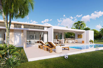 Build to Order - Modern villa with two bedrooms inside gated community