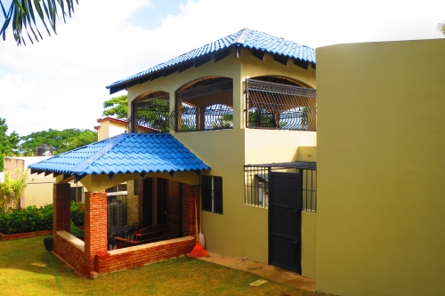 #4 Villa with three bedrooms and ocean view in Sosua