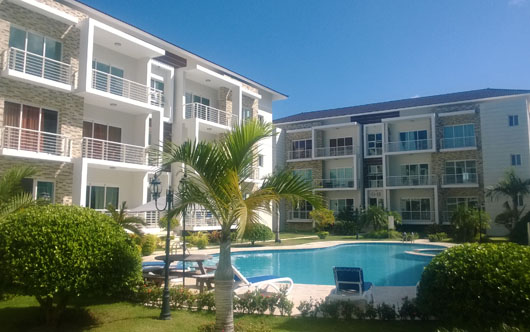#4 New Apartments with 2 and 3 bedrooms in Sosua