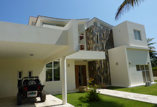 #9 Impressing two-story villa in beachside project