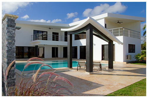 #4 New modern villa located in a quiet gated community
