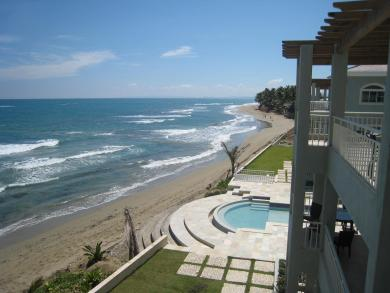 #5 Oversized two bedroom Oceanfront Condo in Cabarete