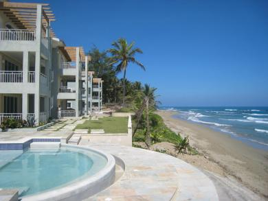 #8 Oversized two bedroom Oceanfront Condo in Cabarete