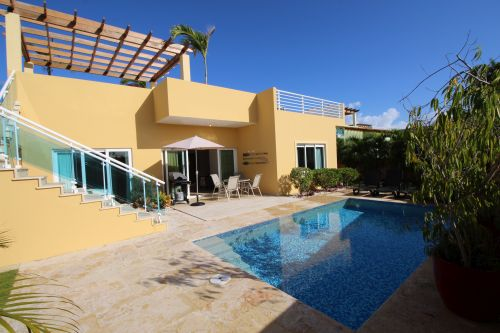 #3 Villa with 3 bedrooms in gated beachfront community