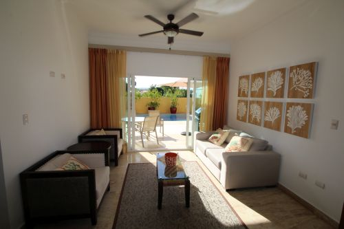 #7 Villa with 3 bedrooms in gated beachfront community