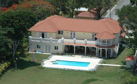 #0 Oceanfront Mansion with luxury finishing in Sosua