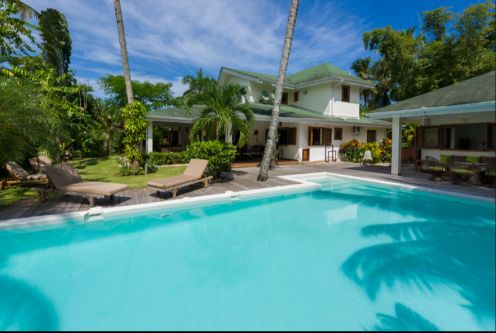 #1 Spacious villa just footsteps from the beach in Las Terrenas