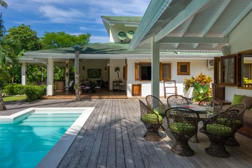 #7 Spacious villa just footsteps from the beach in Las Terrenas
