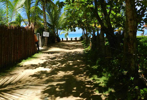 #0 Nice lot in second line beach near Coson Beach