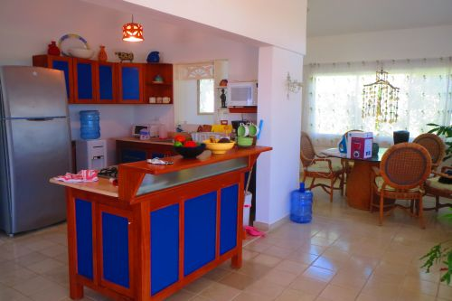 #2 Beachfront villa with separate guesthouse in gated community