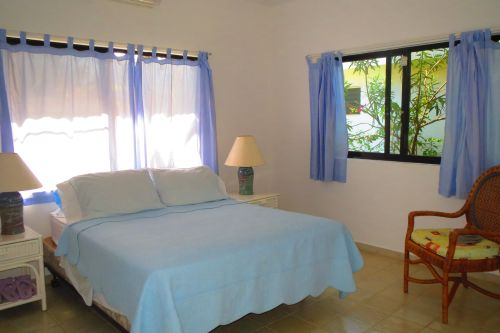 #1 Beachfront villa with separate guesthouse in gated community