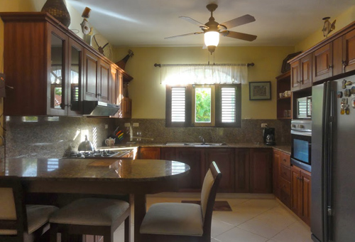#8 Large villa in beachside gated community