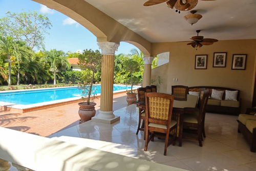 #3 Large villa in beachside gated community