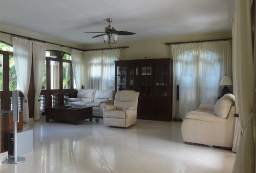 #9 Large villa in beachside gated community