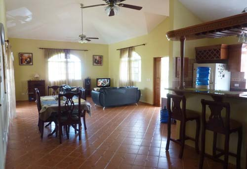 #8 Spacious three bedroom villa with separate apartment in gated community